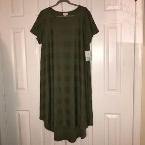 NWT 2X LULAROE Unicorn Carly Dress